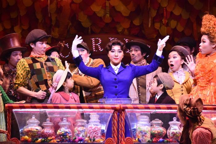 『メリー・ポピンズ』公開舞台稽古の様子
