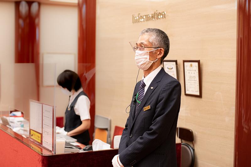 歌舞伎座劇場運営の平野さん