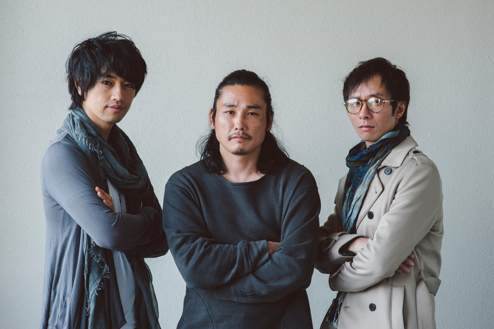 左から、斎藤工、TAK∴(坂口拓)、いしだ壱成