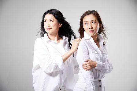 (左から)中村なる美、永津真奈