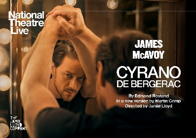 ジェームズ・マカヴォイ主演、『シラノ・ド・ベルジュラック』がオリヴィエ賞のBEST REVIVAL賞を受賞 「NTLive2020」で12月より上映