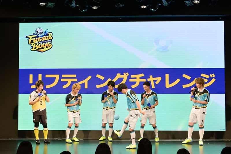 『フットサルボーイズ!!!!!』AGF2019ステージ (C)FUTSAL BOYS!!!!! ORIGINAL WORK