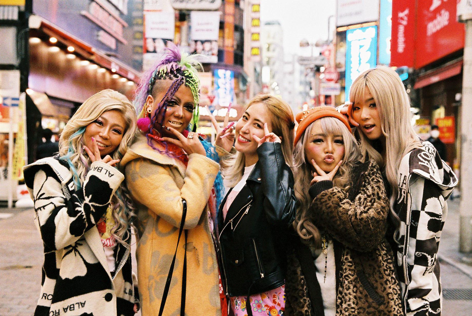 渋谷のギャル