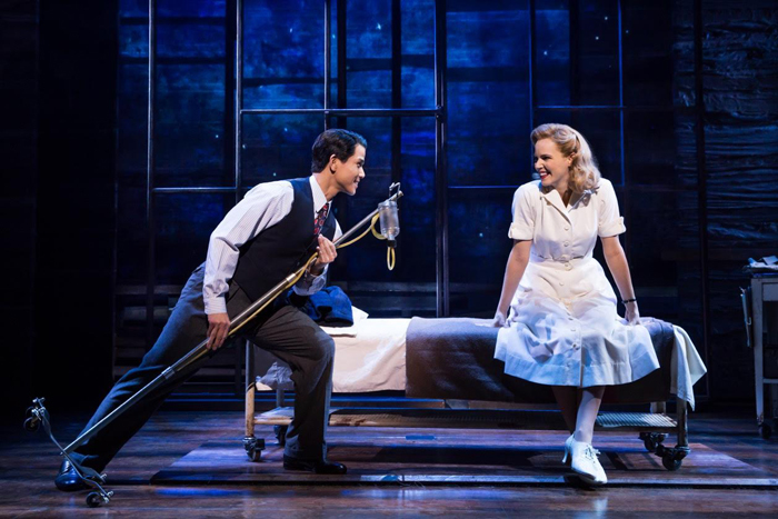 『アリージャンス~忠誠~』  Original Broadway Company of Allegiance / photo by Matthew Murphy
