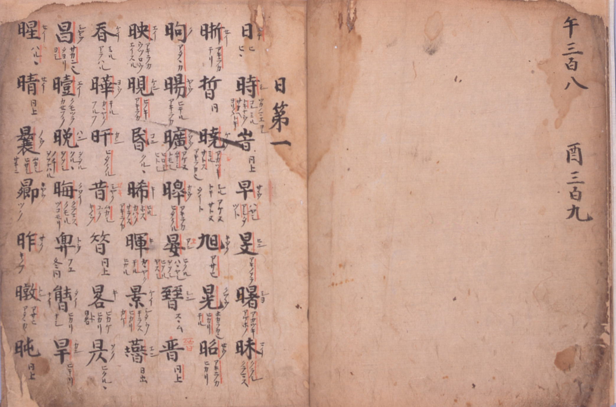『倭玉篇』 室町時代(16世紀) 静嘉堂文庫蔵 【全期間展示】