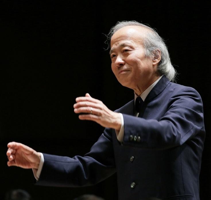 大阪フィルの音楽監督として2年目のシーズンを迎えている尾高忠明 (C)飯島隆