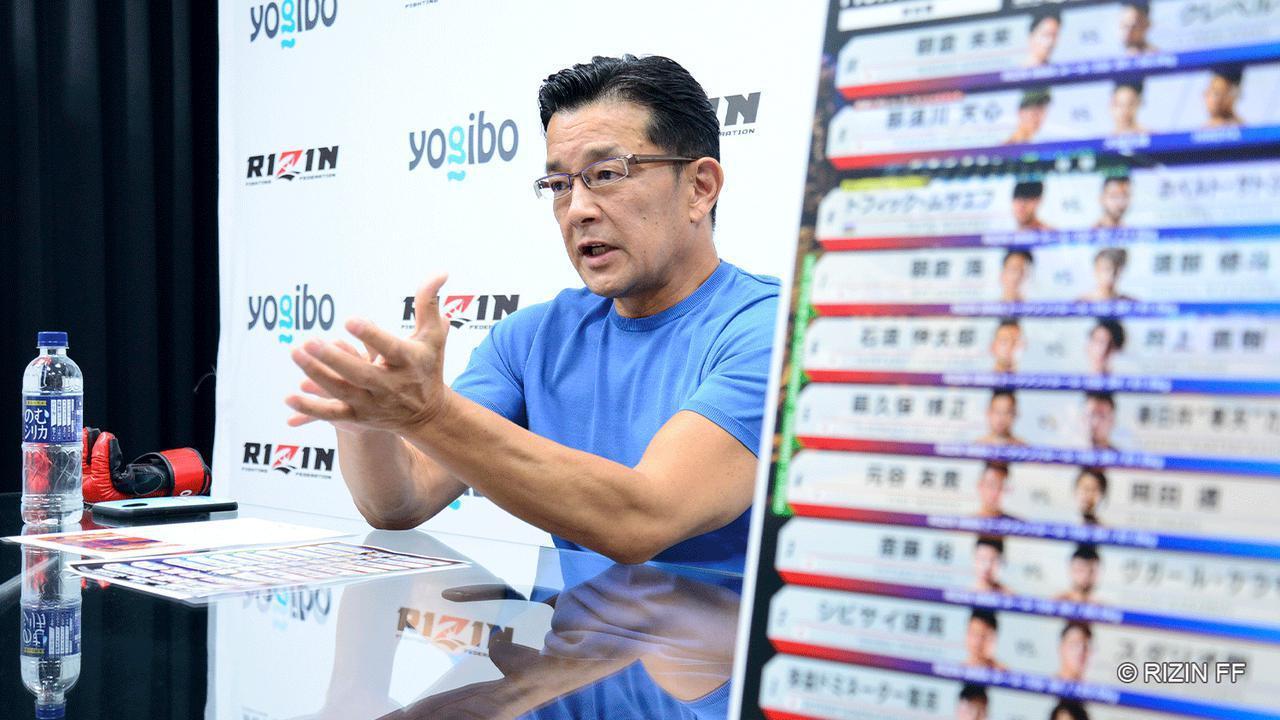 那須川天心の対戦相手発表に熱が入る榊原CEO