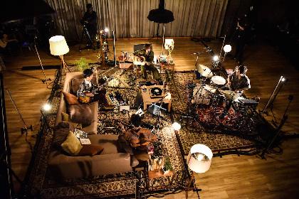 フレデリックがアコースティック編成の無観客配信ライブでみせた姿 「どういう環境であれ、音楽を鳴らせていることが幸せ」