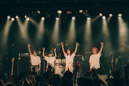 "FAITH、解散前ラスト東京ワンマン『""Sweet Error""Release Tour 2021 ~Errored ERA~』オフィシャルライブレポが到着"