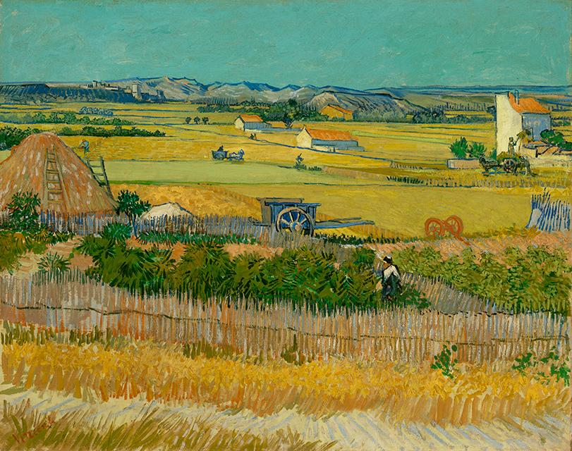 《収穫》フィンセント・ファン・ゴッホ/ファン・ゴッホ美術館(フィンセント・ファン・ゴッホ財団) ©Van Gogh Museum, Amsterdam  (Vincent van Gogh Foundation)
