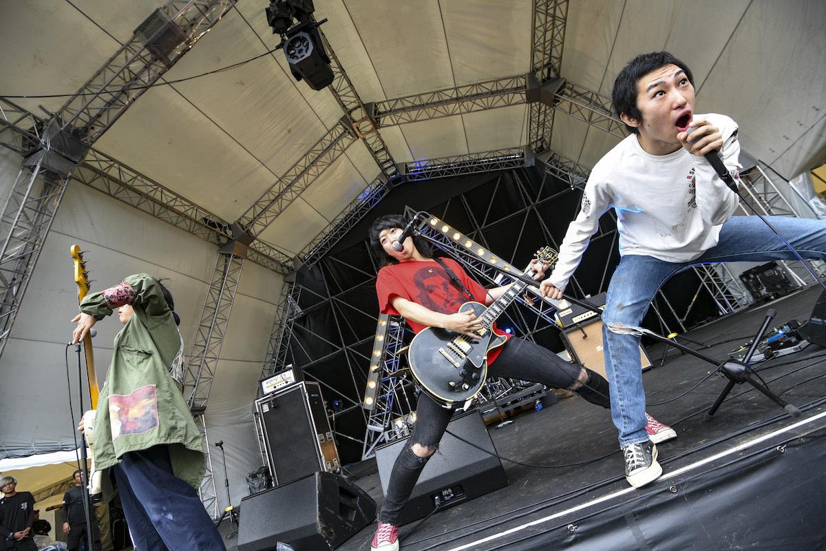 ハルカミライ 撮影=岸田哲平