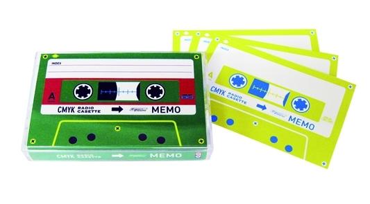 展覧会オリジナル カセットメモ 540円
