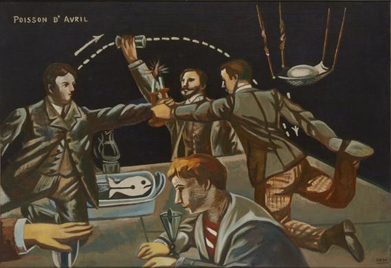 《Poisson d'Avril(四月馬鹿)》 1930年 東京国立近代美術館蔵