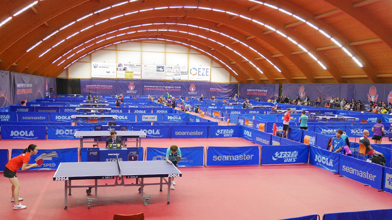 チェコ・オロモウツで開催された卓球ITTFワールドツアー・チェコオープン