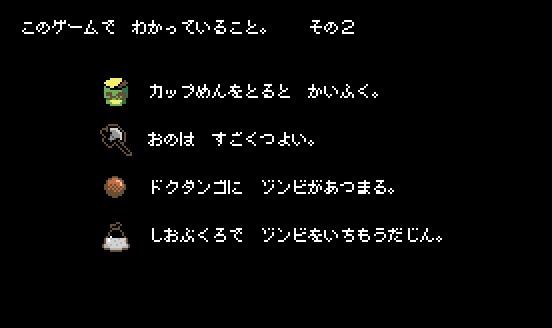 「ドロヘドロ 8bitゲーム ~リビングデッドデイ・サバイバー~」マニュアルより (c)2020 林田球・小学館/ドロヘドロ製作委員会