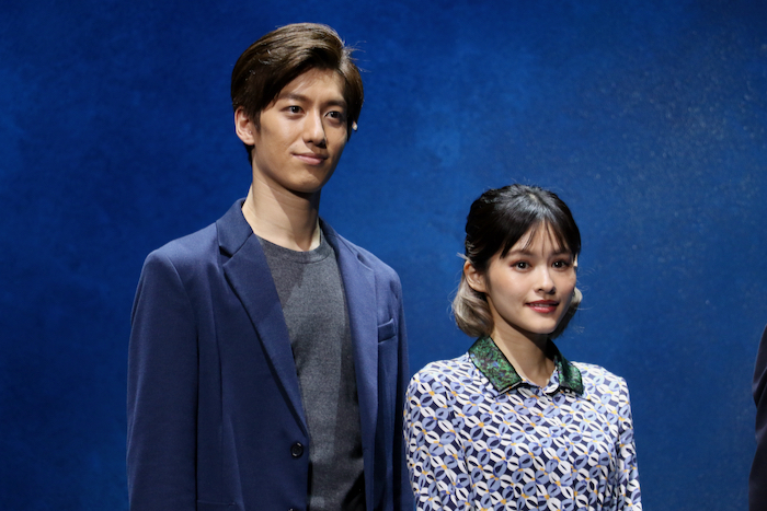 (左から)水田航生、昆夏美