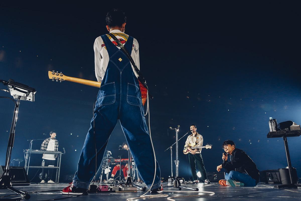 星野源 2019年2月28日 東京ドーム 撮影=西槇太一