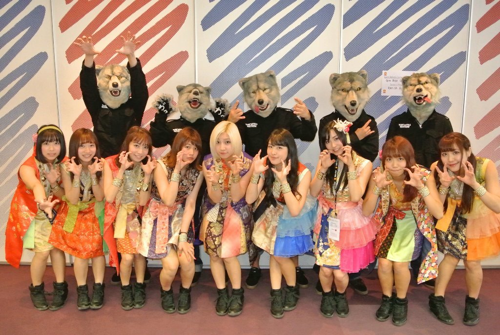 MAN WITH A MISSION Cheeky Parade