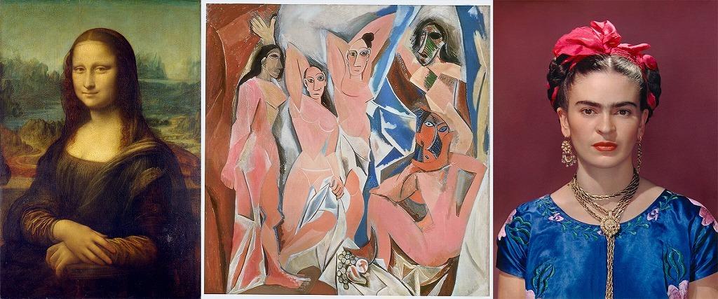 『アート・オン・スクリーン』 (C)Succession Picasso/DACS, London2018 (C) Nickolas Muray Photo Archives