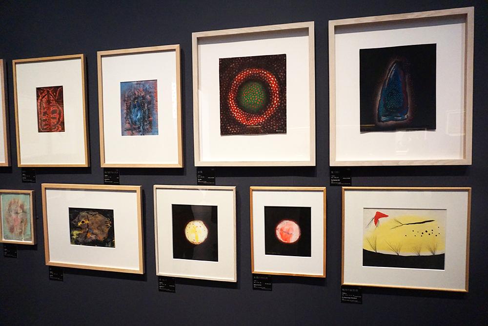 草間彌生『太陽』1953年 水彩、その他/紙 東京国立新美術館 ほか ©YAYOI KUSAMA