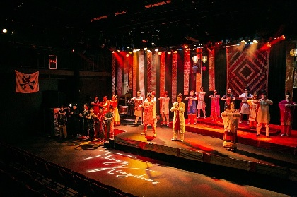 三国志の栄枯盛衰を1年かけて描き出すシリーズ 舞台『Three Kingdoms〜呉国編〜』が開幕