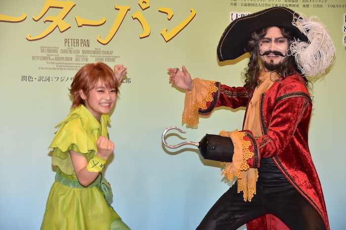 (左から)吉柳咲良、小西遼生 製作会見より