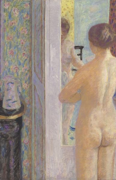 ピエール・ボナール《化粧室 あるいは バラ色の化粧室》1914-21年 油彩、カンヴァス 119.5×79cm  オルセー美術館 (C)RMN-Grand Palais (musée d'Orsay) / Hervé Lewandowski / distributed by AMF