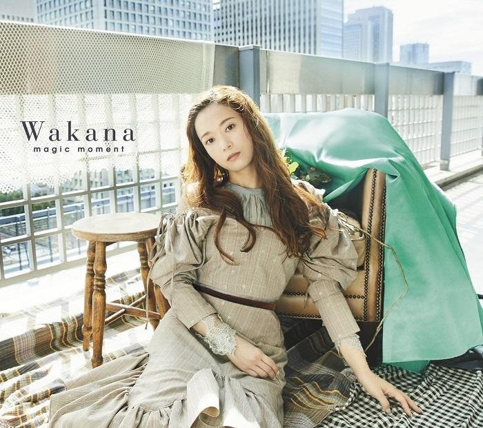 <初回限定盤A>Wakana「magic moment」ジャケット写真