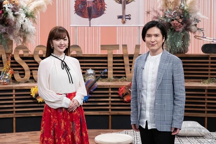 (左から)鈴木愛理、清塚信也