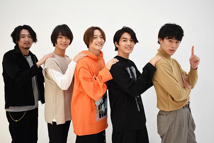 (左から)株元英彰、溝口琢矢、前山剛久、矢部昌暉、富田健太郎