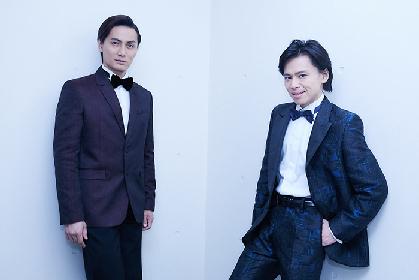 中川晃教×加藤和樹インタビュー 仲の良いミュージカル界のスターたちが、新作ミュージカル『怪人と探偵』への意気込みを語る