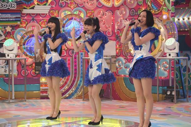 Perfume(写真提供:テレビ朝日)