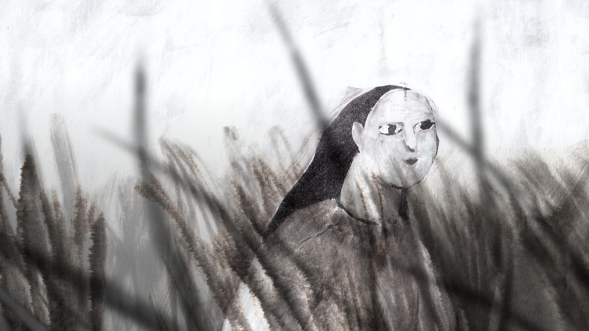東京飛地展示 参考図版:アンナ・ブダノヴァ 《Among the Black Waves》 2016年 ©Anna Budanova