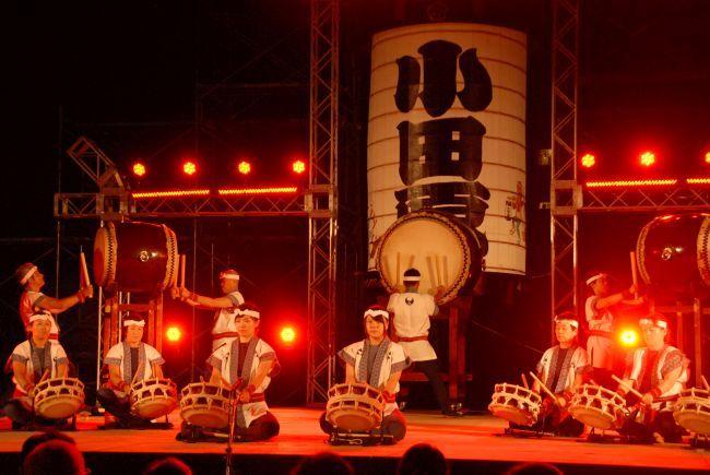 29日にメインステージで行われる「小田原城太鼓合戦」