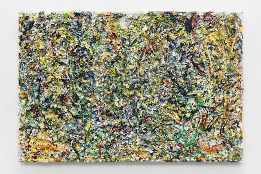 高橋大輔  未定 2015-2016 油絵の具、パネルにマウントしたキャンバス 1120×1455 cm HARMAS GALLERY