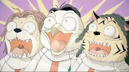 変態紳士クラブ、全編アニメーションで映像化した「HERO」のMusic Videoがプレミア公開決定