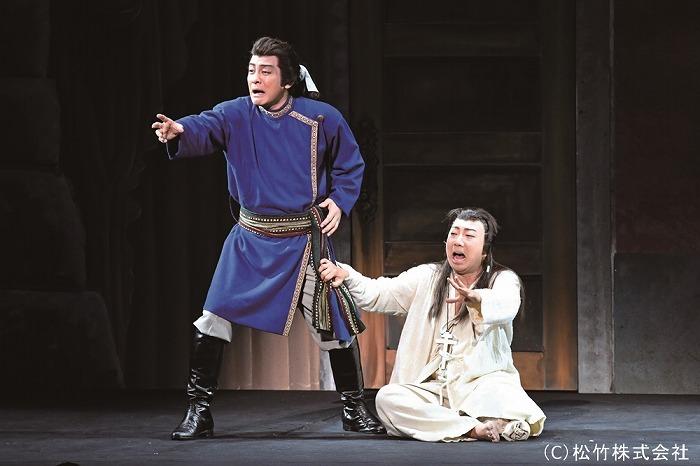 シネマ歌舞伎『三谷かぶき 月光露針路日本 風雲児たち』場面写真