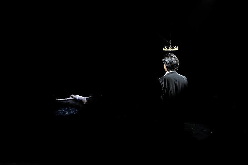 クライオーヴァ国際シェイクスピア・フェスティバルでの『リチャード二世』(2016年4月) 撮影 Mihaela