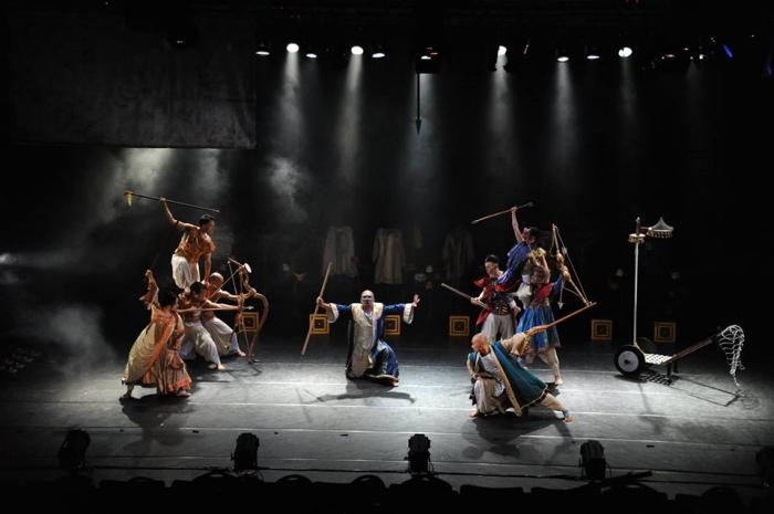 小池博史ブリッジプロジェクト『幻祭前夜 -マハーバーラタより』