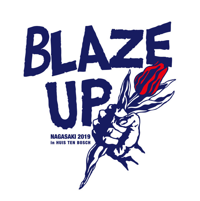 「BLAZE UP NAGASAKI 2019 in HUIS TEN BOSCH」ロゴ