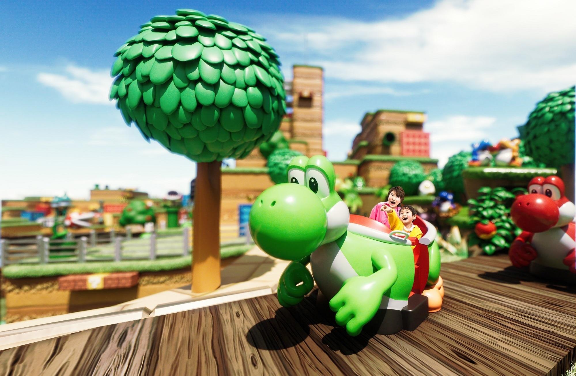 ヨッシー・アドベンチャー (C)Nintendo