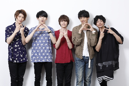 「MANKAI STAGE『A3!』 ~SPRING & SUMMER 2018~ 公演初日×独占放送」に向けて、「春組」の5人が語り合う!