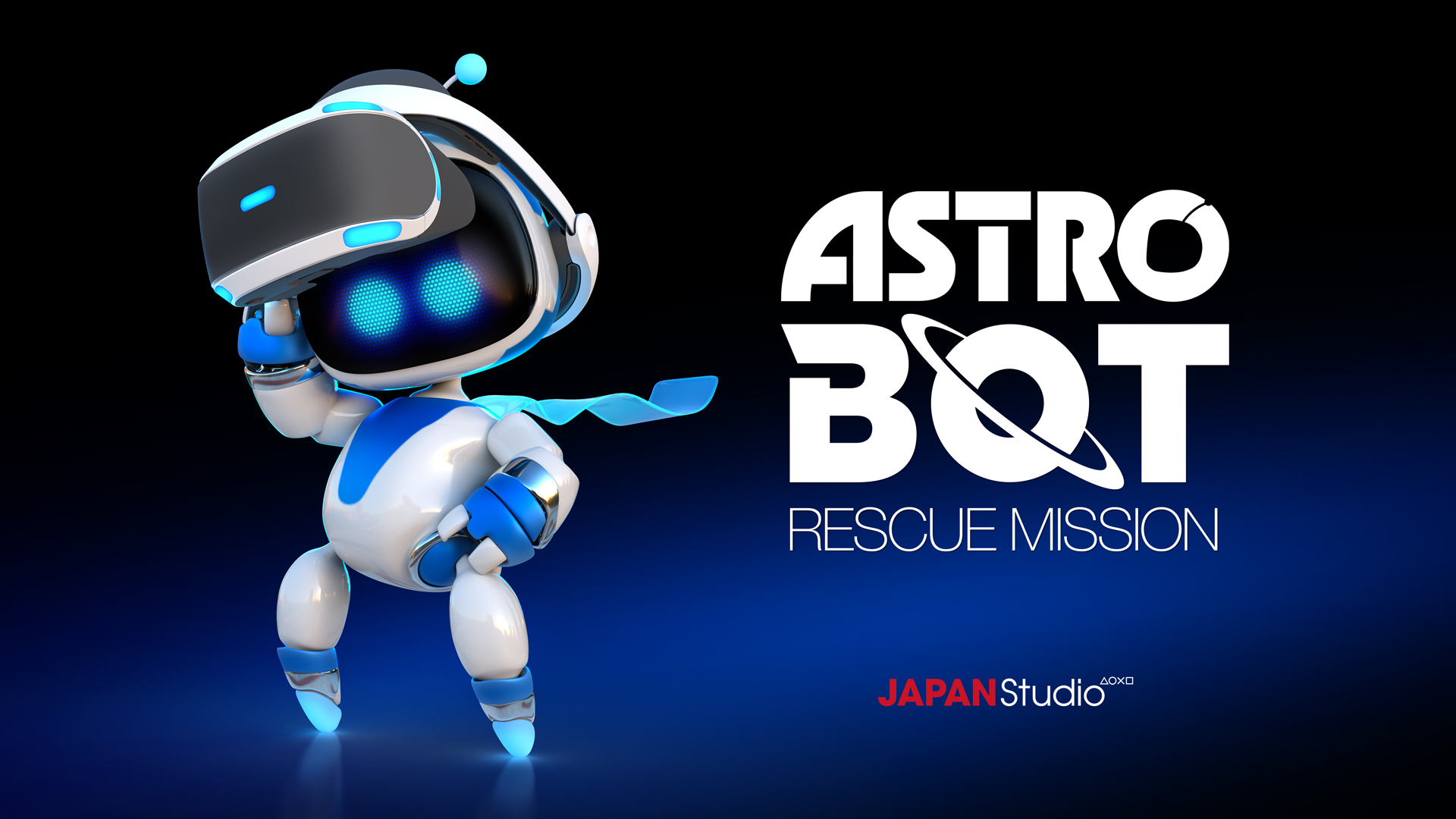 『ASTRO BOT:RESCUE MISSION』キービジュアル (c)Sony Interactive Entertainment Inc.
