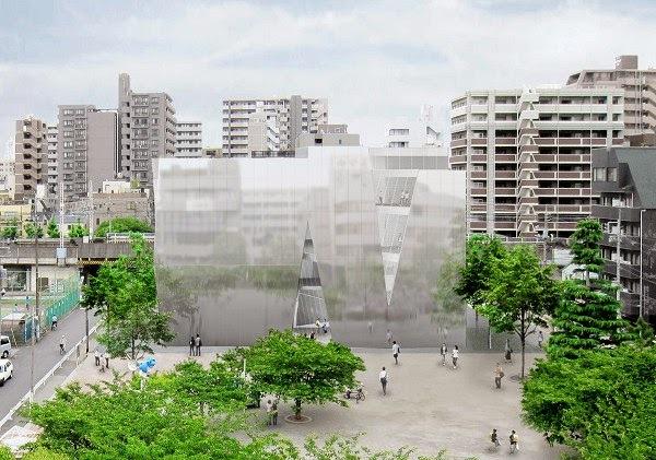 『すみだ北斎美術館』(建築家・妹島和世)