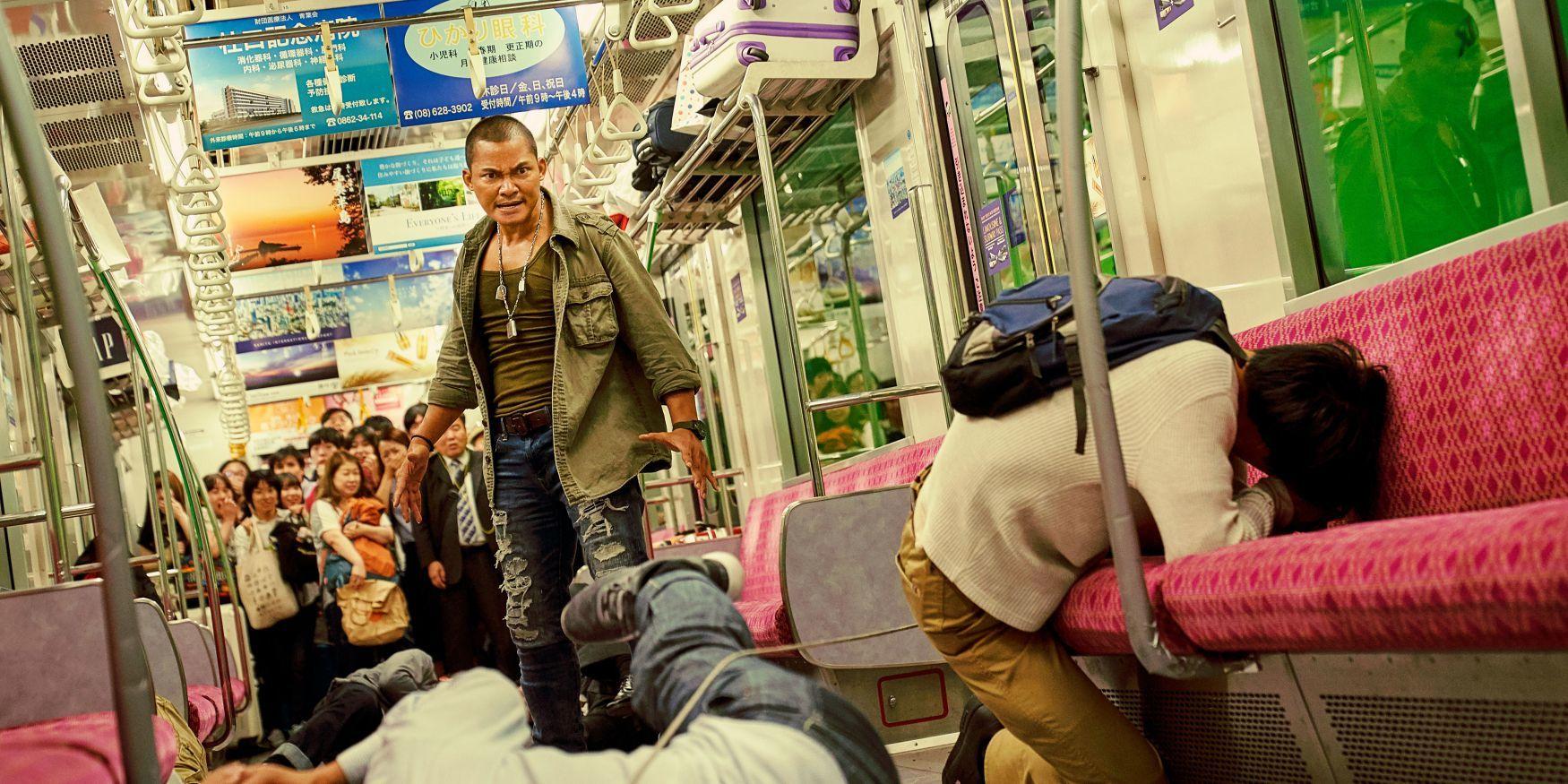 """トニー・ジャー (C)WANDA MEDIA CO.,LTD. AS ONE PICTURES(BEIJING)CO.,LTD.CHINA FILM CO.,LTD """"DETECTIVE CHINATOWN3"""""""