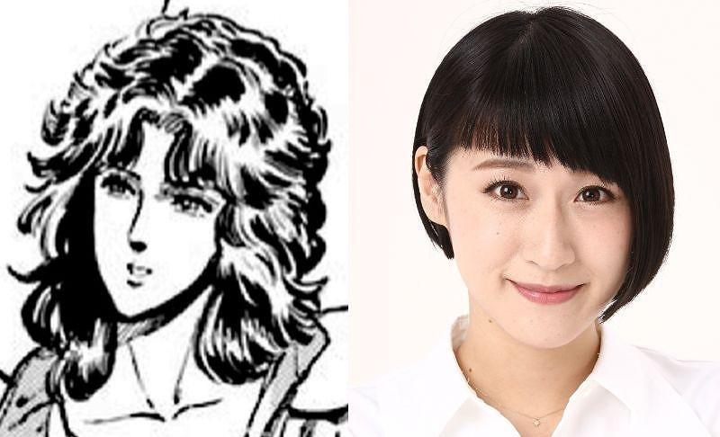マミヤ:松原凜子  (C)武論尊・原哲夫/コアミックス 1983 版権許諾証GS-111