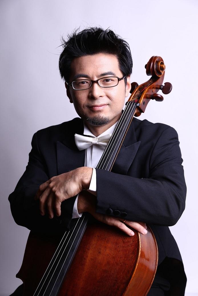 日本センチュリー交響楽団の顔、首席チェロ奏者 北口大輔