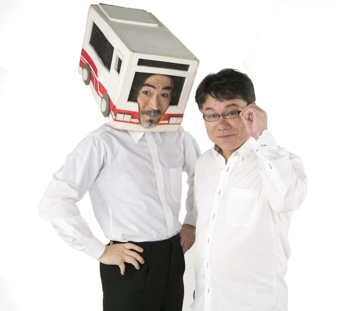 大塚ムネト(左)と仲谷一志