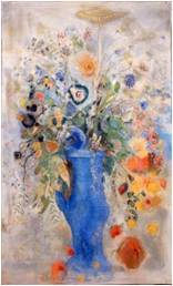 オディロン・ルドン《グラン・ブーケ(大きな花束)》1901年三菱一号館美術館蔵