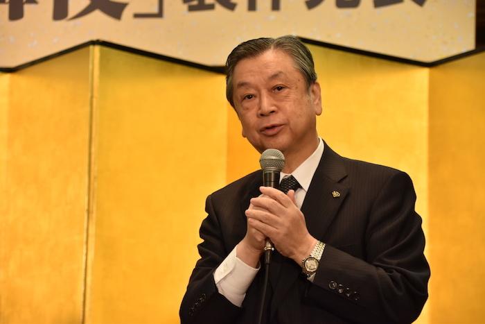 松竹株式会社の安孫子正・副社長